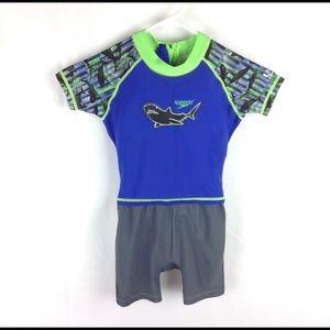 Speedo 18 - 24 Mo Toddler Boys Flotation Swimsuit